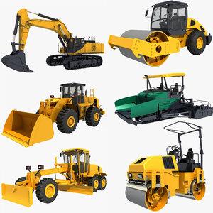 3D vehicles construction model