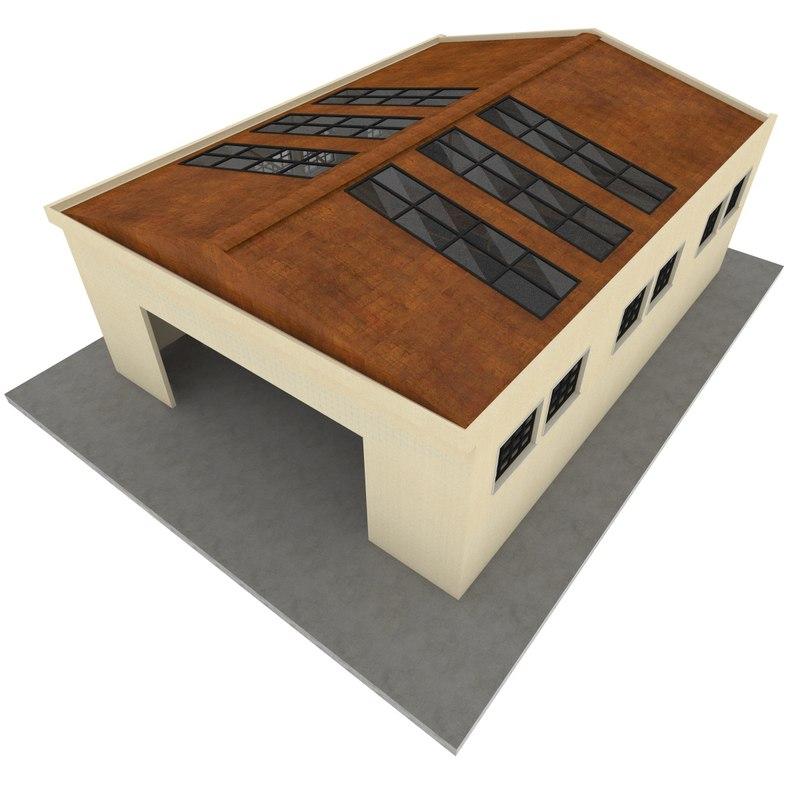 studio interior 3D model