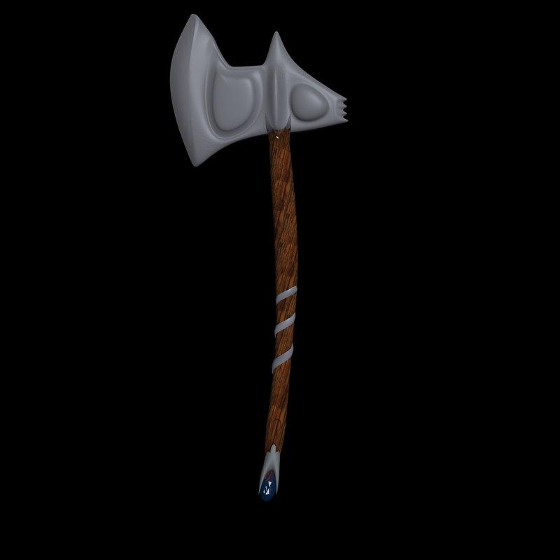 3D ax fantasy rpg