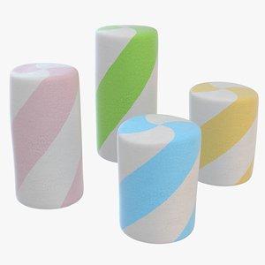 3D marshmallow marshmallow4