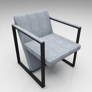 arm chair 3D