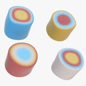 marshmallow marshmallow5 3D model