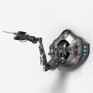 robotic arm 02 1 3D model
