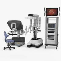 3D model da vinci surgical