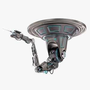 3D robotic arm 02 2 model