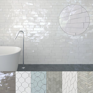 seamless ceramic tiles 2 3D model
