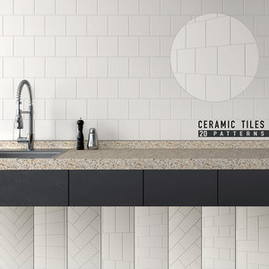 3D model seamless ceramic tiles 7
