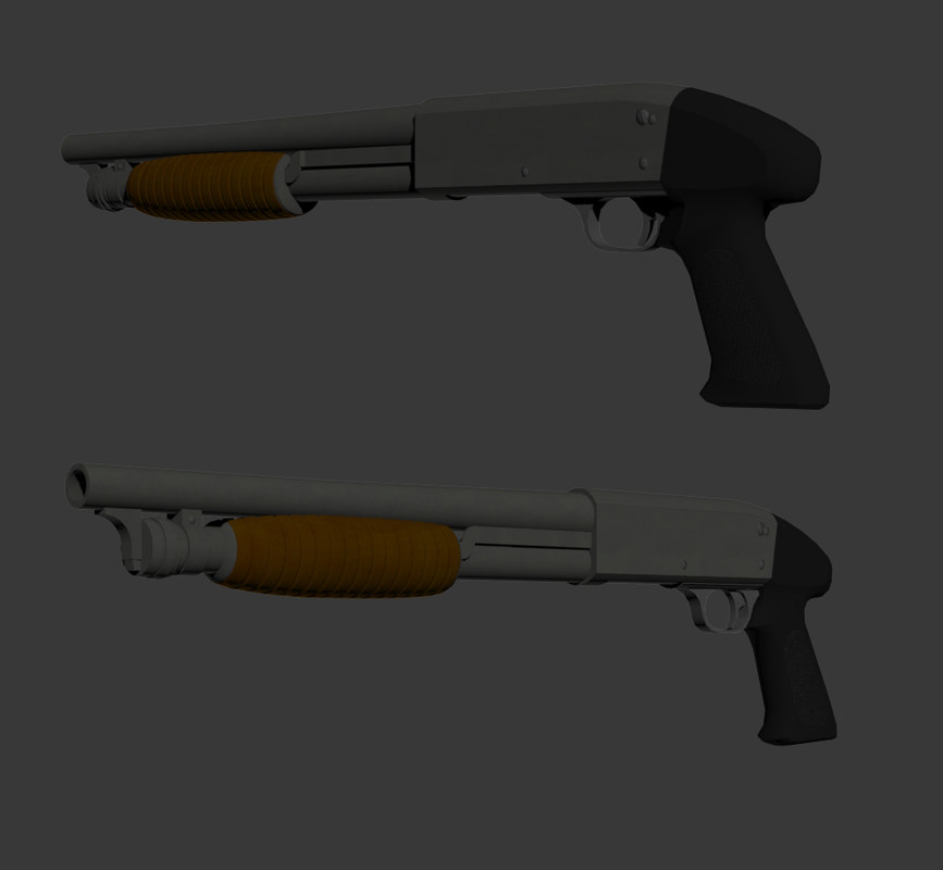 3D model ithaca m37 stakeout