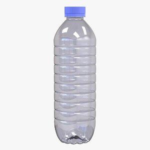 3D model small water bottle