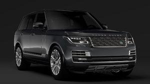 range rover sv autobiography 3D model