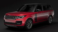 range rover svautobiography dynamic 3D model