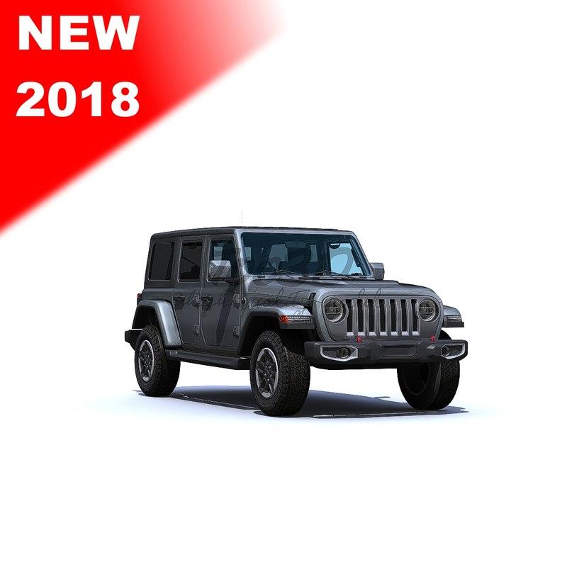 3D model wrangler 2018