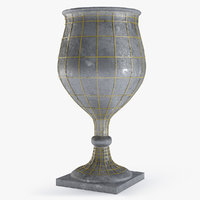 3D medieval grail