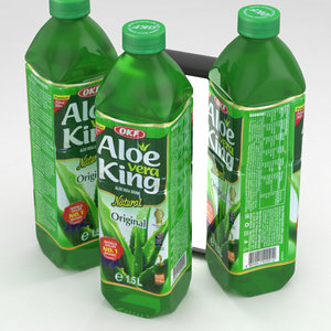 3D model okf aloe vera king