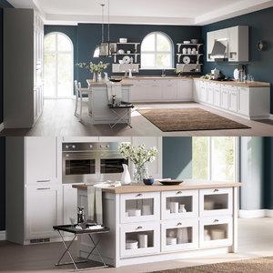 kitchen scavolini 6 3D model