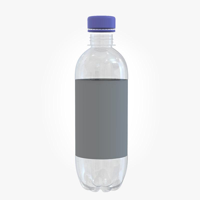 plastic bottle 3D model