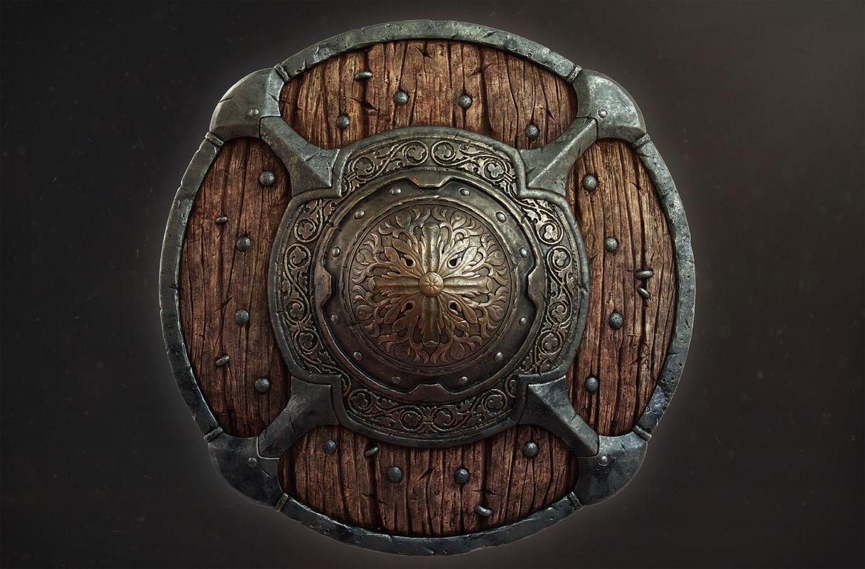 metalness shield destiny 3D model