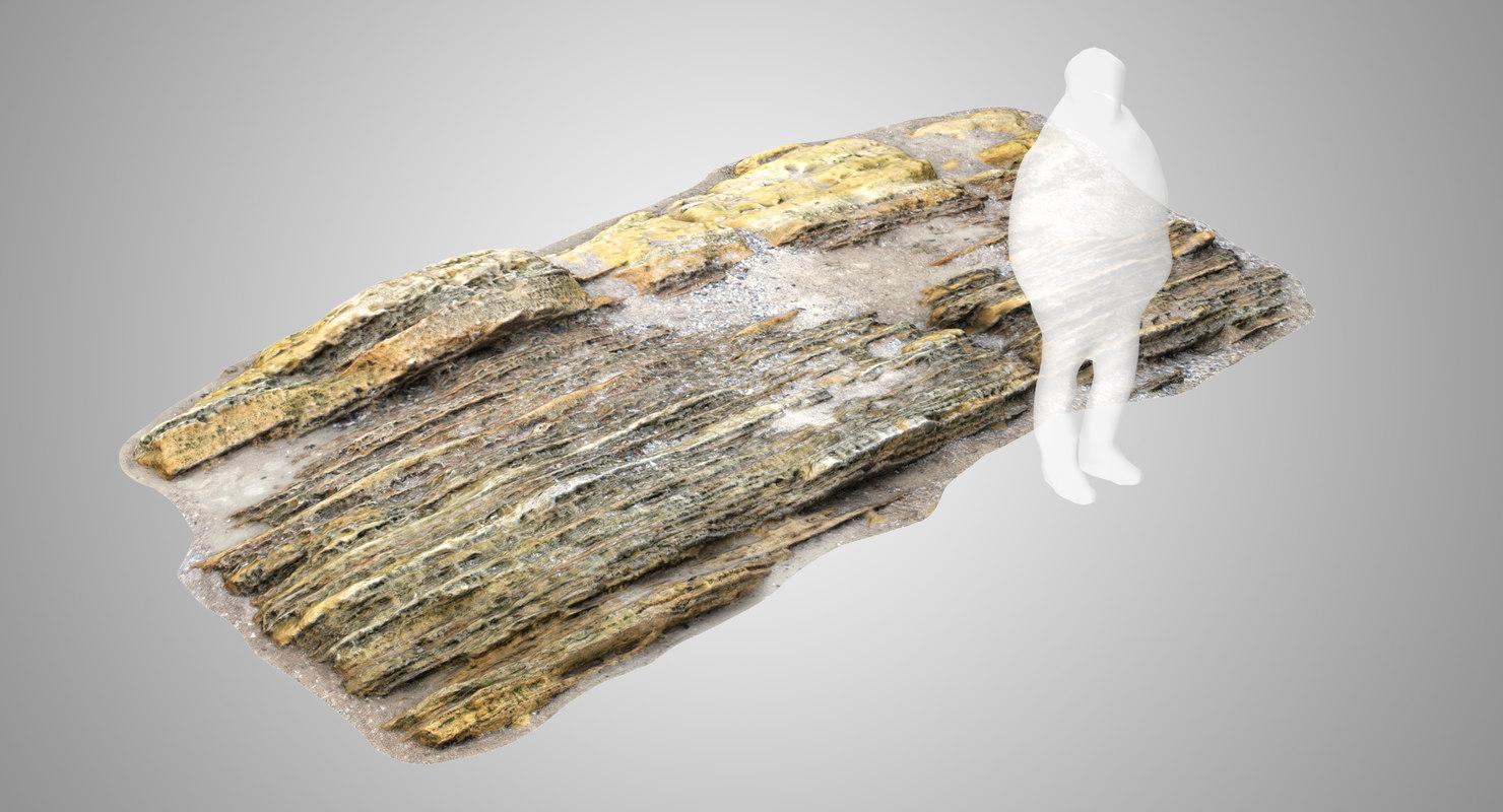 salient limestone 3D model