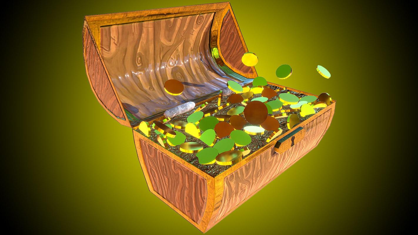 coffer 3D model