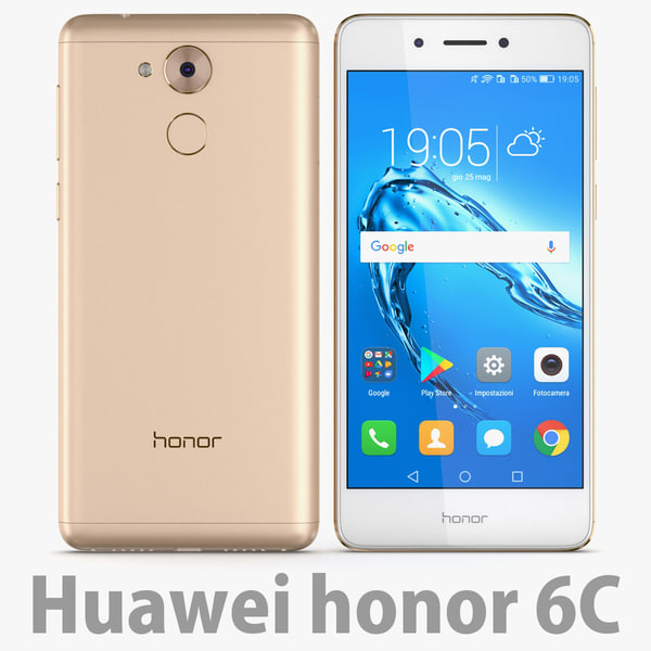 honor gold 3D