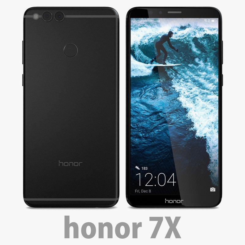 3D 7 honor black model