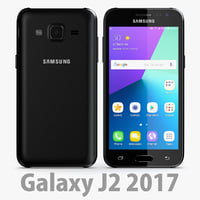 samsung galaxy 2017 3D model