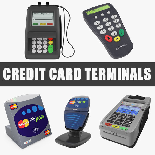 3D credit card terminals
