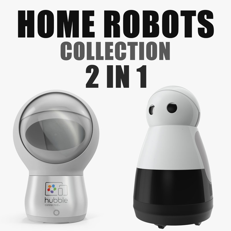 home robots 3D model