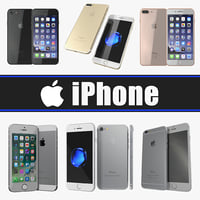 IPhone 3D Models Collection