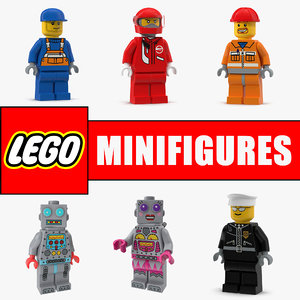 3D lego minifigures 2