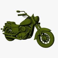 kawasaki-vulcan-classic-1500 3D model