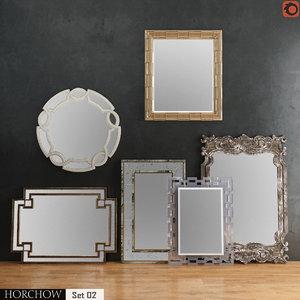 3D horchow mirror