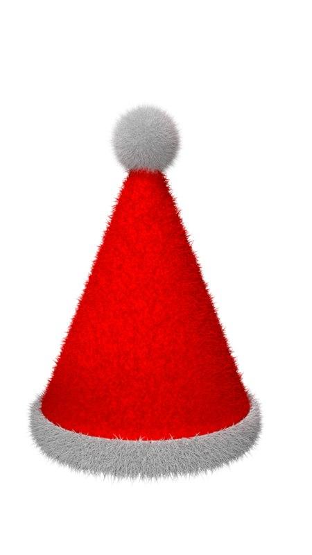 christmas hat 3D model