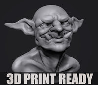 Twoll  bust for 3D print