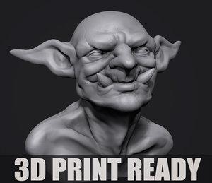 print bust model