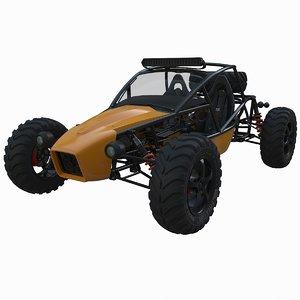3D buggy