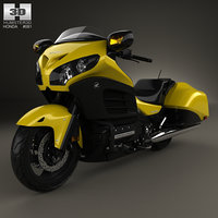 3D honda gold wing