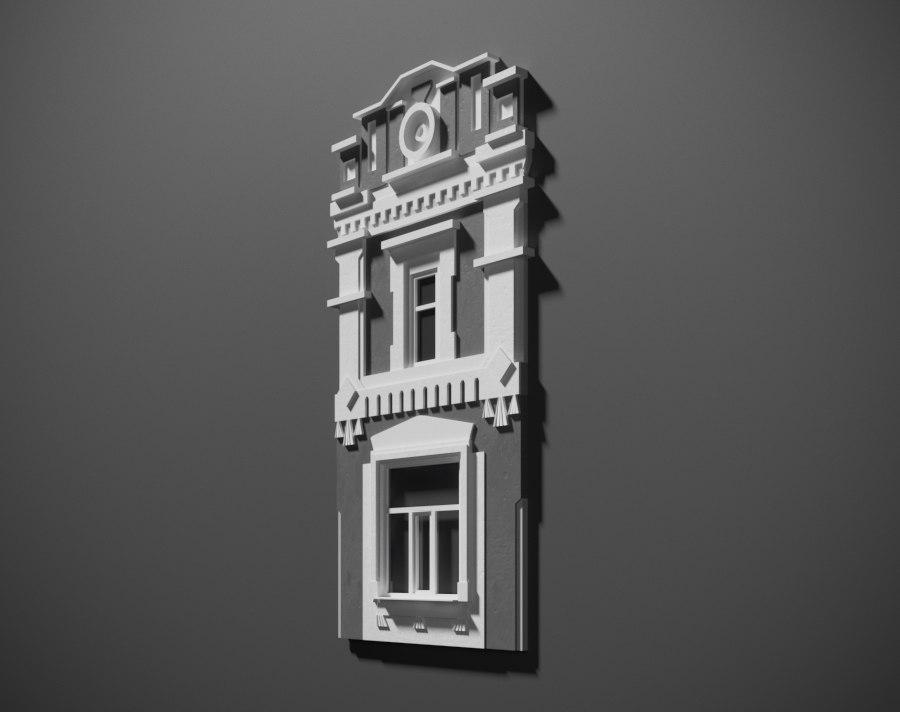 architecture 3D model