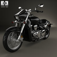 3D suzuki intruder m1500 model
