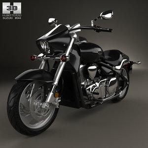 3D suzuki intruder m1500 model