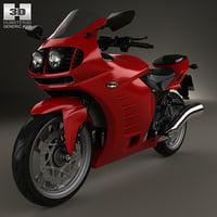 3D generic sport bike