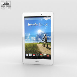 acer tab iconia 3D model