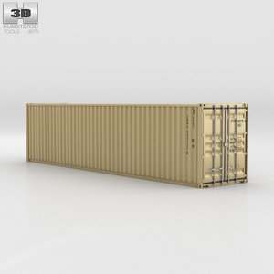 3D container shipping 40