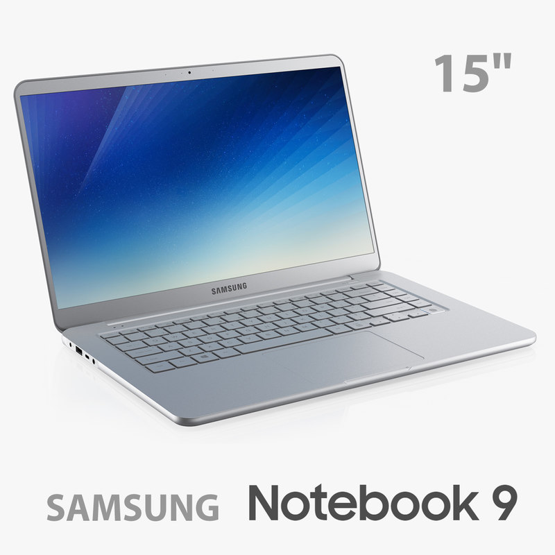 3D samsung notebook 9 15