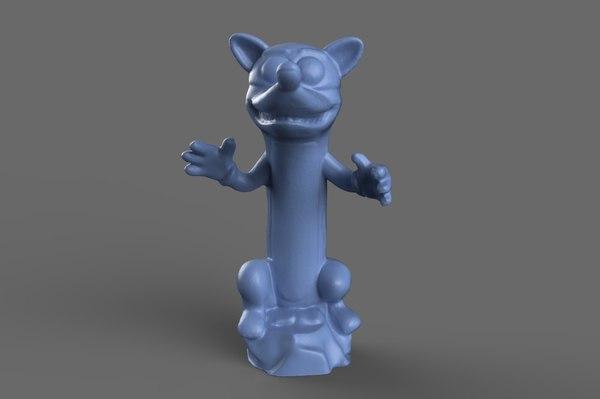 3D dora swiper toy