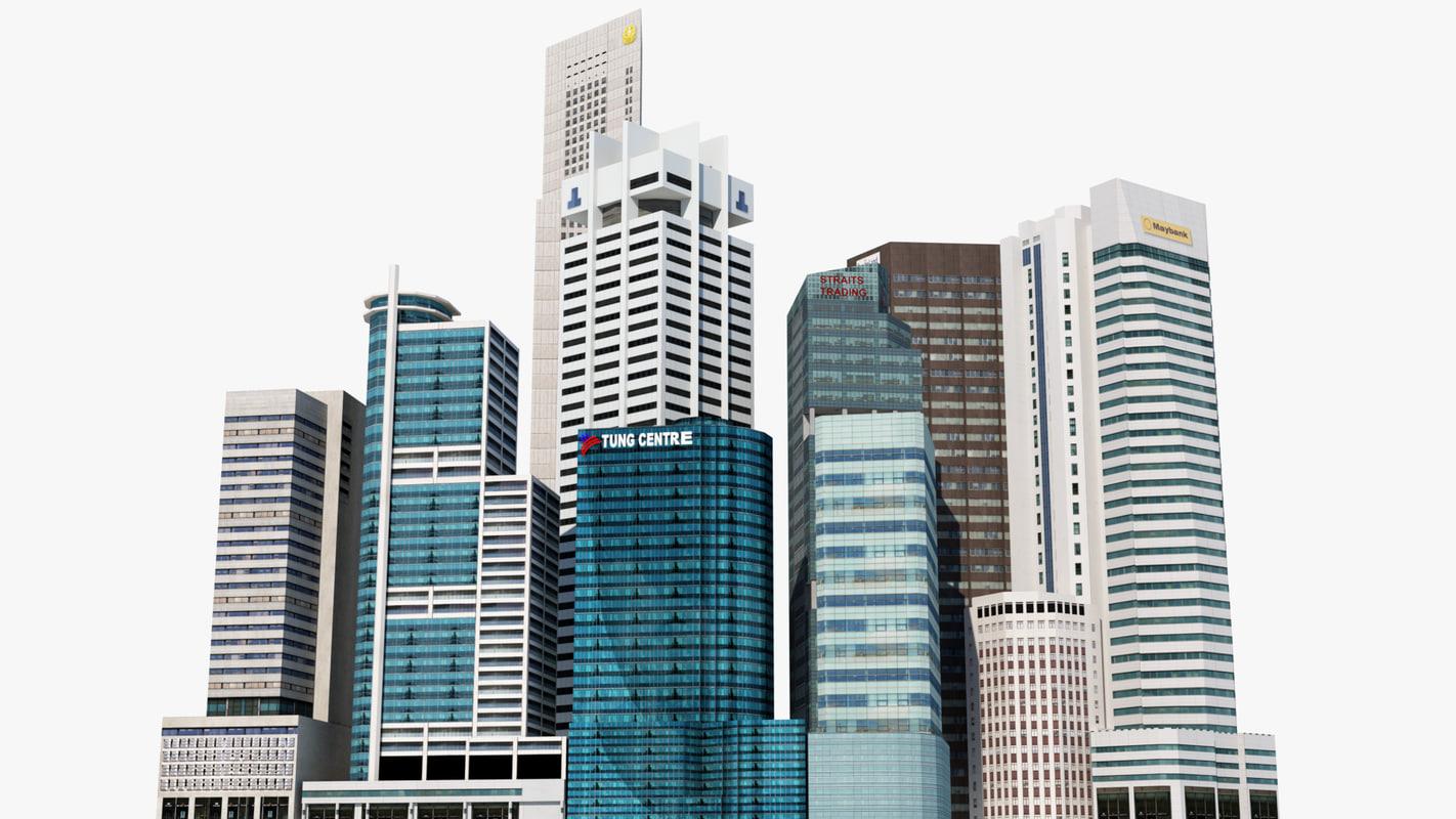 Singapore Skyscrapers Part 2