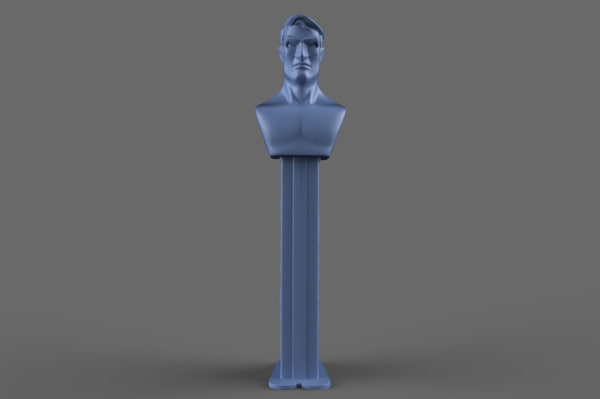 hal green lantern pez 3D model