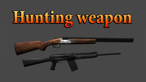 3D weapon hunting