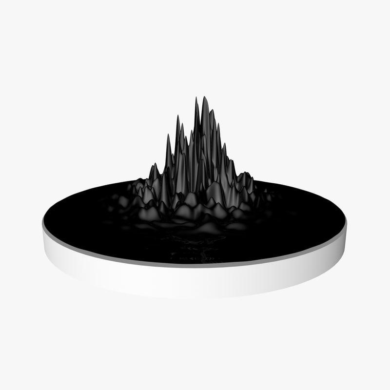 animation ferrofluid model