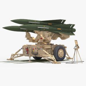 mim-23 hawk desert green 3D